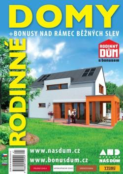 Katalog rodinných domů NÁŠ DŮM XXVI - bonusy nad rámec běžných slev