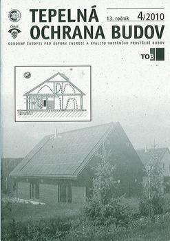 Tepelná ochrana budov 4/2010