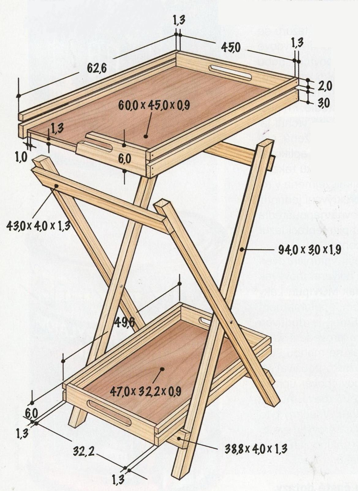 Складной стол своими руками 1000 фото, чертежи, инструкции 14