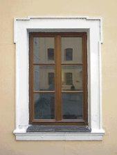Okna rekonstruované památky UNESCO, sídla společnosti Philip Moris v Kutné Hoře jsou rovněž od firmy Janošík