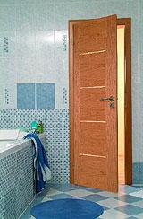 Dveře Alegro - klima úprava. Foto: Sapeli