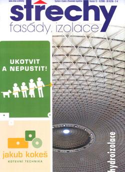 Střechy, Fasády, Izolace 11/2006