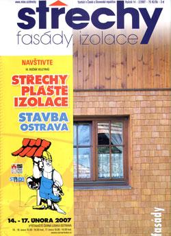 Střechy, Fasády, Izolace 2/2007