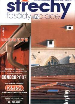Střechy, Fasády, Izolace 3/2007