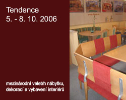 Tendence 2006 - vyberte si styl