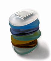 Široká barevná škála dálkových ovládání modelu STONE (Foto: Olymps Door)