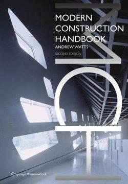 Modern construction handbook
