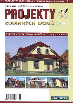 Projekty rodinných domů JAGA 2003/1