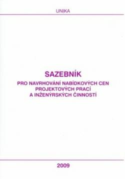 Sazebník UNIKA 2009