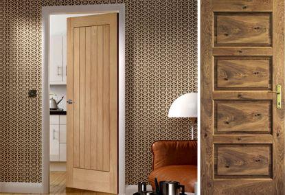 Dřevěné dveře nejsou drahé