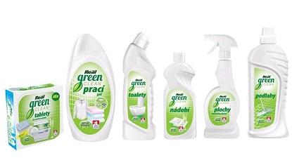 Vyhrajte balíček zelených čisticích prostředků Real