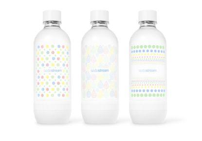 SodaStream představuje nové lahve v pastelových barvách