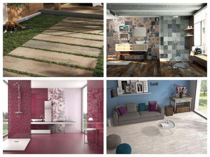 Obklady a dlažby v imitaci dřeva pro interiér i exteriér