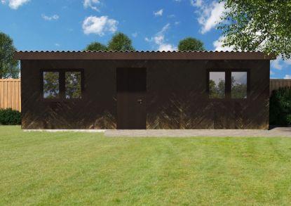 Praktická ukázka realizace rekonstrukce zahradního domku s cementovláknitými deskami fermacell Powerpanel H2O