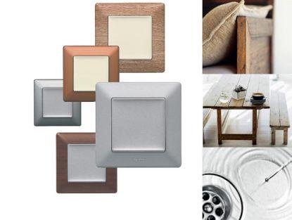 Vypínače vybírejte podle stylu interiéru