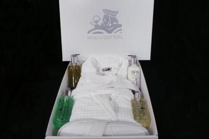 Luxusní balíček županů a ručníků ve výjimečné kvalitě King of Cotton