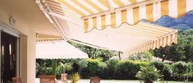 Venkovní markýza pro příjemné chvíle na terase