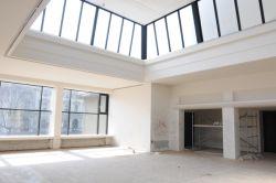Interiér Domu umění před rekonstrukcí