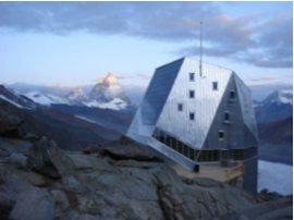 Unikátní horská chata Neue Monte Rosa Hütte; Foto: Tonatiuh Ambrosetti