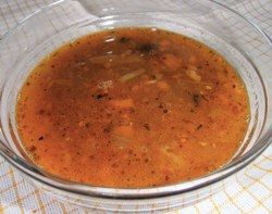 Pikantní dršťková polévka bez jíšky