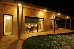 Dům inspirovaný lesem (foto:http://www.drevenastavbaroku.eu)