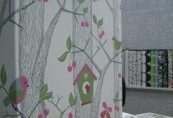 Co se starými textilními tapetami?