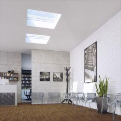 Více denního světla pod plochou střechou