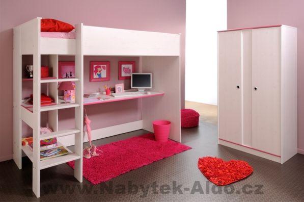 Dětská patrová postel Smoozy pro jedno dítě, cena: 6 174 Kč