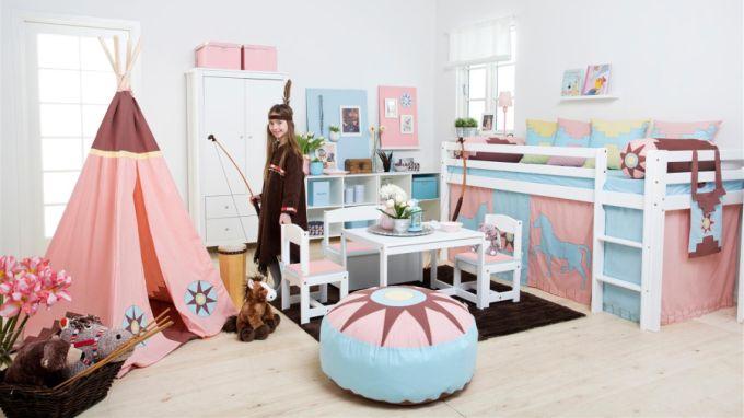 Kolekce dětského nábytku Indian Girl - nábytek z e-shopu www.nabytek-aldo.cz