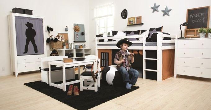 Kolekce dětského nábytku Cowboy - nábytek z e-shopu www.nabytek-aldo.cz