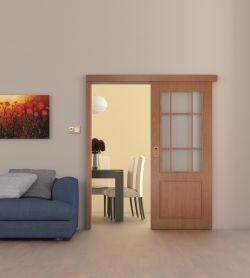 posuvné dveře SONG po stěně - Foto: SOLODOOR