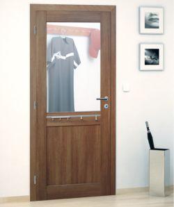 Dveře se zrcadlovou výplní