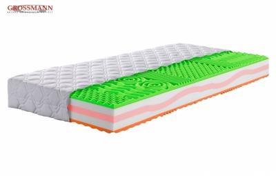 Viscoelastická matrace DONAU VISCO - konstrukce matrace je oboustranná s rozdílnou tuhostí, cena: 5950 Kč (www.grossmann-matrace.cz)
