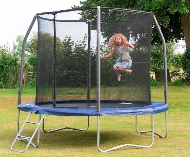 Trampolína JumpKING JumpPOD DeLUXE 4,2 M, cena: 15 990 Kč (www.trampoliny-jumpking.cz)