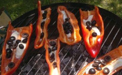 Grilované papriky na dva způsoby