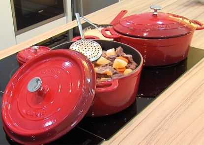 Kvalitní litinové nádobí Lava Metal vydrží celý život