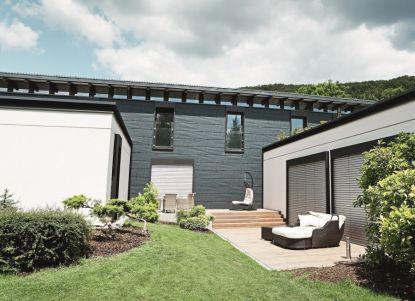 Dům s futuristickou fasádou