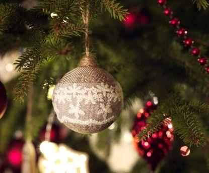Zdobíme vánoční stromeček
