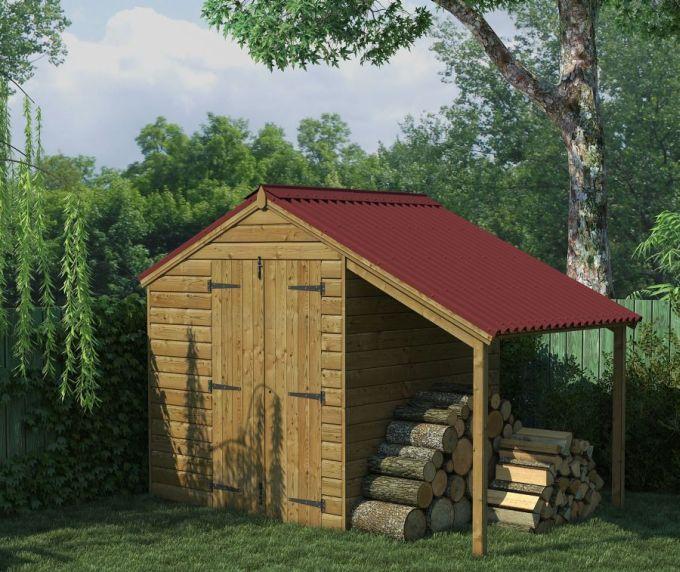 Zahradní domeček na nářadí, střešní krytina ONDULINE