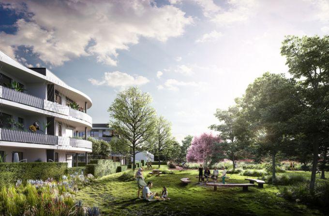 Arcus City moderní bytové domy v pražských Stodůlkách - okolí