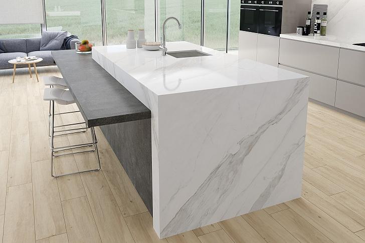 Kuchyňská deska z keramiky: top design, skvělé vlastnosti a snadná údržba