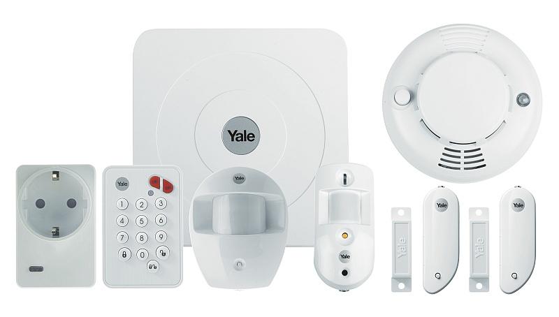 Kompletní sada - chytrý alarm Yale Smart Home