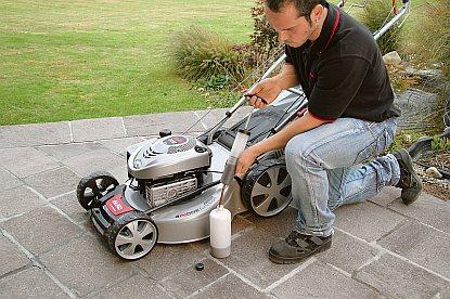 Tipy, jak udržovat sekačku na trávu