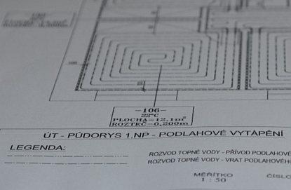 Proč si nechat vypracovat projekt podlahového topení?