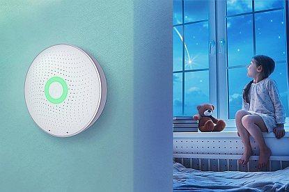 Airthings Wave - inteligentní detektor radonu ve vzduchu ochrání vás i vaše blízké