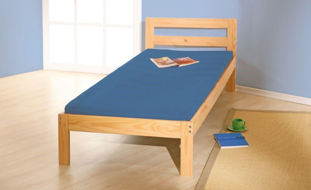 84c846a128 Postele na fotografiích jsou levným a přesto kvalitním řešením místa na  spaní. Díky prostoru na spaní o velikosti 90 x 200 cm a nosností až 100 kg  jsou ...