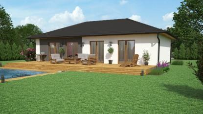 Nový bungalov Luminoso dostal do vínku světlo v interiéru