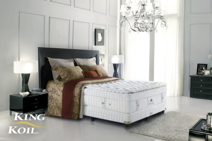 Dokonalý komfort s kontinentální postelí King Koil®