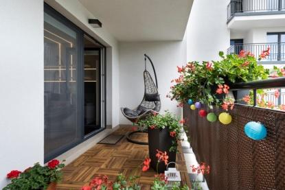 Bydlení na balkoně