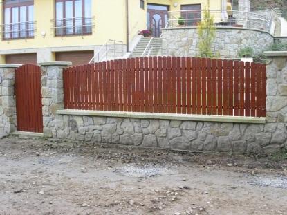 Údržba plotu po zimě